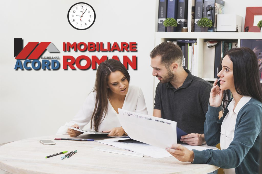 ACORD IMOBILIARE ROMAN - CU NOI VINZI CHIAR AZI!