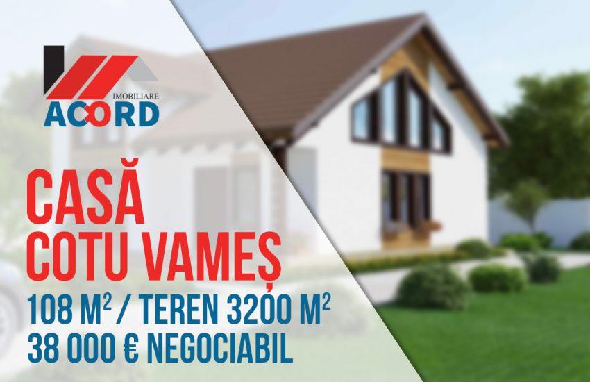 Vanzare Casa in Cotu Vames