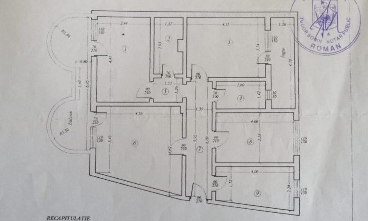 Vazare apartament 4 camere Sucedava Roman